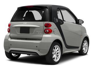 Gray Metallic 2014 smart fortwo electric drive Pictures fortwo electric drive Coupe 2D Electric photos rear view