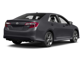 Magnetic Gray Metallic 2014 Toyota Camry Pictures Camry Sedan 4D LE I4 photos rear view