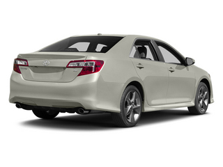 Creme Brulee Mica 2014 Toyota Camry Pictures Camry Sedan 4D LE I4 photos rear view