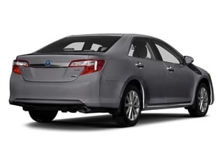 Magnetic Gray Metallic 2014 Toyota Camry Hybrid Pictures Camry Hybrid Sedan 4D LE I4 Hybrid photos rear view