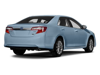 Clearwater Blue Metallic 2014 Toyota Camry Hybrid Pictures Camry Hybrid Sedan 4D LE I4 Hybrid photos rear view