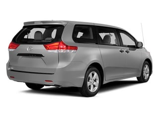 Silver Sky Metallic 2014 Toyota Sienna Pictures Sienna Wagon 5D LE AWD V6 photos rear view