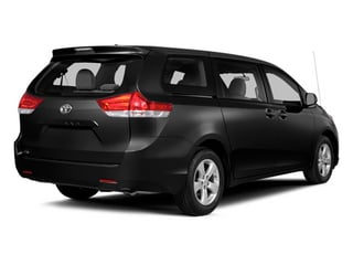 Black 2014 Toyota Sienna Pictures Sienna Wagon 5D LE AWD V6 photos rear view