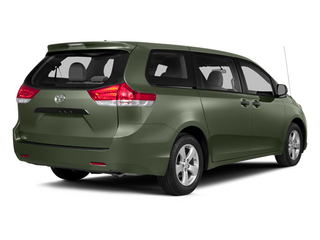 Cypress Pearl 2014 Toyota Sienna Pictures Sienna Wagon 5D LE AWD V6 photos rear view