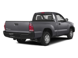 Magnetic Gray Metallic 2014 Toyota Tacoma Pictures Tacoma Base 4WD I4 photos rear view