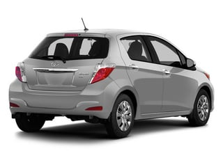Classic Silver Metallic 2014 Toyota Yaris Pictures Yaris Hatchback 5D SE I4 photos rear view