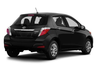 Black Sand Pearl 2014 Toyota Yaris Pictures Yaris Hatchback 5D SE I4 photos rear view