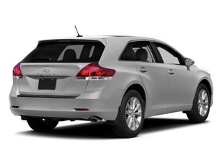 Classic Silver Metallic 2014 Toyota Venza Pictures Venza Wagon 4D LE 2WD I4 photos rear view