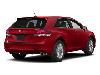 Barcelona Red Metallic 2014 Toyota Venza Pictures Venza Wagon 4D LE 2WD I4 photos rear view