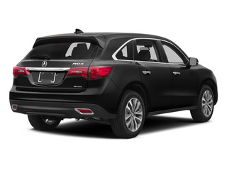 Crystal Black Pearl 2015 Acura MDX Pictures MDX Utility 4D Technology DVD AWD V6 photos rear view