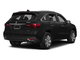 Crystal Black Pearl 2015 Acura MDX Pictures MDX Utility 4D Advance DVD AWD V6 photos rear view