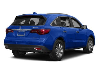 Fathom Blue Pearl 2015 Acura MDX Pictures MDX Utility 4D Advance DVD AWD V6 photos rear view