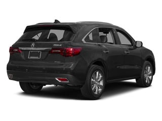 Graphite Luster Metallic 2015 Acura MDX Pictures MDX Utility 4D Advance DVD AWD V6 photos rear view