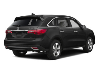 Graphite Luster Metallic 2015 Acura MDX Pictures MDX Utility 4D 2WD V6 photos rear view