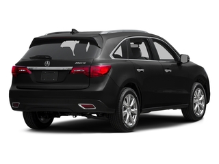 Crystal Black Pearl 2015 Acura MDX Pictures MDX Utility 4D Advance DVD 2WD V6 photos rear view