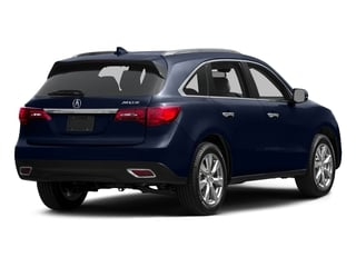 Fathom Blue Pearl 2015 Acura MDX Pictures MDX Utility 4D Advance DVD 2WD V6 photos rear view