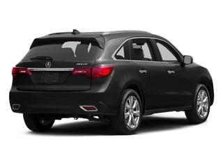 Graphite Luster Metallic 2015 Acura MDX Pictures MDX Utility 4D Advance DVD 2WD V6 photos rear view