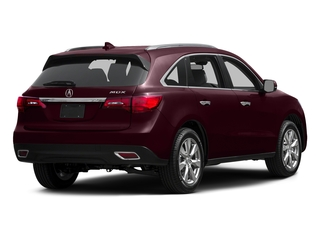 Dark Cherry Pearl 2015 Acura MDX Pictures MDX Utility 4D Advance DVD 2WD V6 photos rear view