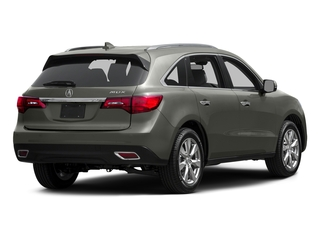Silver Moon 2015 Acura MDX Pictures MDX Utility 4D Advance DVD 2WD V6 photos rear view