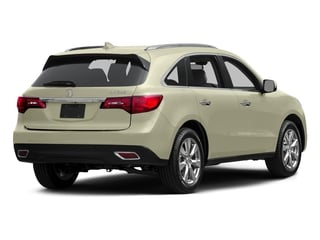 White Diamond Pearl 2015 Acura MDX Pictures MDX Utility 4D Advance DVD 2WD V6 photos rear view