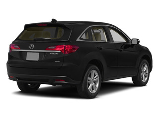 Crystal Black Pearl 2015 Acura RDX Pictures RDX Utility 4D AWD V6 photos rear view