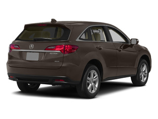 Kona Coffee Metallic 2015 Acura RDX Pictures RDX Utility 4D AWD V6 photos rear view