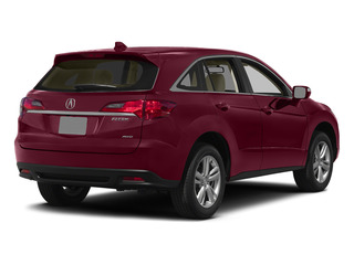 Basque Red Pearl II 2015 Acura RDX Pictures RDX Utility 4D AWD V6 photos rear view