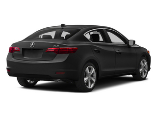 Crystal Black Pearl 2015 Acura ILX Pictures ILX Sedan 4D I4 photos rear view