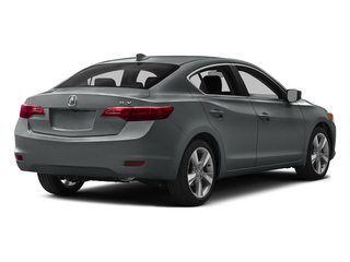 Modern Steel Metallic 2015 Acura ILX Pictures ILX Sedan 4D I4 photos rear view