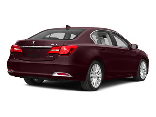 Pomegranate Pearl 2015 Acura RLX Pictures RLX Sedan 4D Technology V6 photos rear view