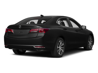 Crystal Black Pearl 2015 Acura TLX Pictures TLX Sedan 4D I4 photos rear view