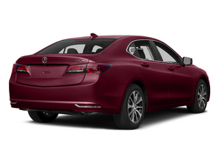 Basque Red Pearl II 2015 Acura TLX Pictures TLX Sedan 4D I4 photos rear view