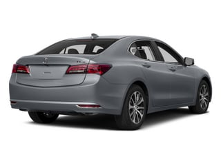Slate Silver Metallic 2015 Acura TLX Pictures TLX Sedan 4D I4 photos rear view