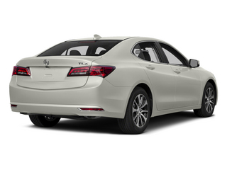 Bellanova White Pearl 2015 Acura TLX Pictures TLX Sedan 4D I4 photos rear view