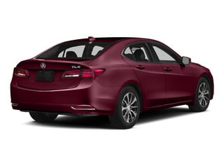 Basque Red Pearl II 2015 Acura TLX Pictures TLX Sedan 4D Technology I4 photos rear view