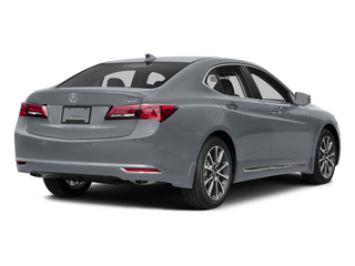 Slate Silver Metallic 2015 Acura TLX Pictures TLX Sedan 4D Advance V6 photos rear view