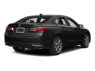 Crystal Black Pearl 2015 Acura TLX Pictures TLX Sedan 4D V6 photos rear view