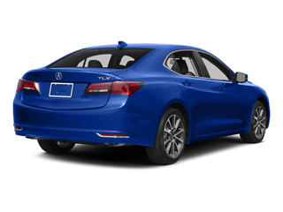 Fathom Blue Pearl 2015 Acura TLX Pictures TLX Sedan 4D V6 photos rear view