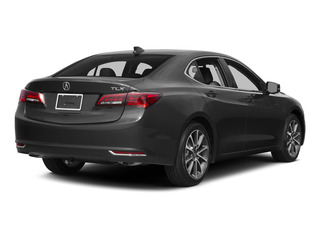 Graphite Luster Metallic 2015 Acura TLX Pictures TLX Sedan 4D V6 photos rear view