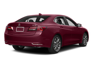 Basque Red Pearl II 2015 Acura TLX Pictures TLX Sedan 4D V6 photos rear view
