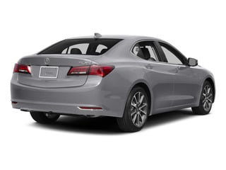 Slate Silver Metallic 2015 Acura TLX Pictures TLX Sedan 4D V6 photos rear view