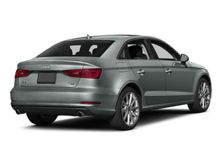 Monsoon Gray Metallic 2015 Audi A3 Pictures A3 Sedan 4D TDI Prestige 2WD I4 Turbo photos rear view
