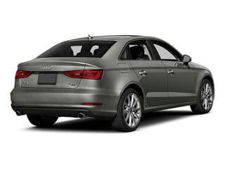Lotus Gray Metallic 2015 Audi A3 Pictures A3 Sedan 4D TDI Prestige 2WD I4 Turbo photos rear view