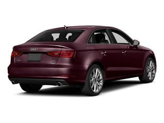 Shiraz Red Metallic 2015 Audi A3 Pictures A3 Sedan 4D 1.8T Premium I4 Turbo photos rear view