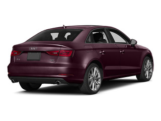 Shiraz Red Metallic 2015 Audi A3 Pictures A3 Sedan 4D TDI Prestige 2WD I4 Turbo photos rear view