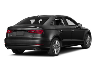 Brilliant Black 2015 Audi A3 Pictures A3 Sedan 4D 1.8T Premium I4 Turbo photos rear view