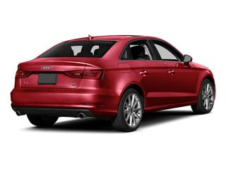 Brilliant Red 2015 Audi A3 Pictures A3 Sedan 4D TDI Prestige 2WD I4 Turbo photos rear view