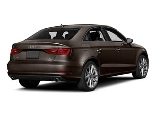 Beluga Brown Metallic 2015 Audi A3 Pictures A3 Sedan 4D 1.8T Premium I4 Turbo photos rear view