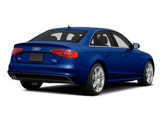 Sepang Blue Pearl Effect 2015 Audi A4 Pictures A4 Sedan 4D 2.0T Prestige AWD photos rear view