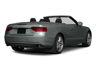 Monsoon Gray Metallic/Black Roof 2015 Audi A5 Pictures A5 Convertible 2D Premium Plus AWD photos rear view
